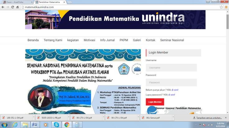 Website Unindra
